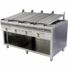 Barbacoa industrial royal grill modular PSI-160 Mainho
