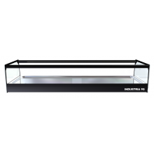 Vitrina Expositora Neutra Cristal Recto 1096x390x224mm CUB 6 NEUTRA I90