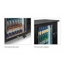 Botellero Frigorífico Industrial Con Ruedas 1460x535x860mm 325Ltr QBG200 Eurofred